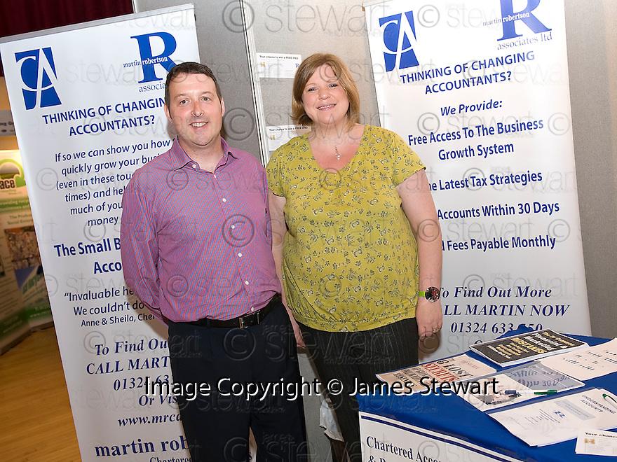 Falkirk Business Exhibition 2011<br /> Martin Robertson Associates Ltd