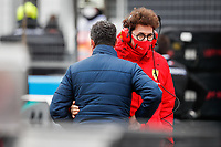 MASI Michael, FIA Race Director, BINOTTO Mattia (ita), Team Principal & Technical Director of the Scuderia Ferrari, portrait during the Formula 1 Aramco Grosser Preis Der Eifel 2020, Eifel Grand Prix, from October 9 to 11, 2020 on the Nürburgring, in Nürburg, Germany <br /> Nurburg Nurburging 11-10-2020 Formula 1 GP Eifel Germania <br /> Foto Dppi/Panoramic/Insidefoto <br /> ITALY ONLY