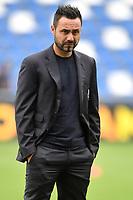 Roberto De Zerbi coach of US Sassuolo <br /> Reggio Emilia 22/09/2019 Stadio Citta del Tricolore <br /> Football Serie A 2019/2020 <br /> US Sassuolo - SPAL <br /> Photo Andrea Staccioli / Insidefoto