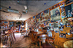 Interior of Bullock's Bistro, Yellowknife