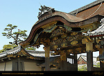 Karamon Gate moved from Fushimi Castle Momoyama period Nijo Castle Kyoto