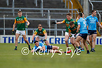 Colm Basquel, Dublin in action against Stephen O'Brien, Kerry during the Allianz Football League Division 1 South between Kerry and Dublin at Semple Stadium, Thurles on Sunday.