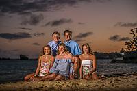 Romano family at the Fairmont