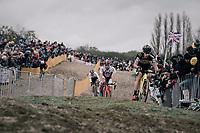 Laurens Sweeck (BEL/Era-Circus)<br /> <br /> Elite Men's race<br /> <br /> UCI cyclocross World Cup Koksijde / Belgium 2017