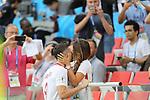 19th June 2018, Spartak Stadium, Moscow, Russia; FIFA World Cup Football, Group H, Poland versus Senegal; Robert Lewandowski and Anna Lewandowska. Photo: Pierre TEYSSOT