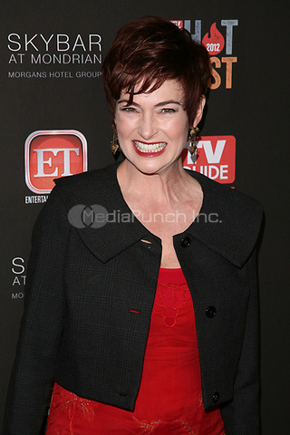 WEST HOLLYWOOD, CA - NOVEMBER 12:  Carolyn Hennesy at TV Guide Magazine's 2012 Hot List Party at SkyBar at the Mondrian Los Angeles on November 12, 2012 in West Hollywood, California. Credit: mpi21/MediaPunch Inc.