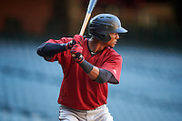 Arizona Diamondbacks Luis Tejeda (6) during an Instructional League game against the Oakland Athletics on October 15, 2016 at Chase Field in Phoenix, Arizona.  (Mike Janes/Four Seam Images)