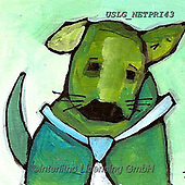 Nettie,REALISTIC ANIMALS, REALISTISCHE TIERE, ANIMALES REALISTICOS, paintings+++++HerbertGreendog,USLGNETPRI43,#A#, EVERYDAY pop art