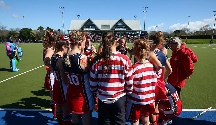 Federation Cup Broze, St Margarets v Diocesan, Lloyd Elsmore Park, Auckland, New Zealand, Saturday September 2019. Photo: Simon Watts/www.bwmedia.co.nz/HockeyNZ