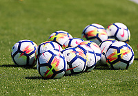 Pictured: The new official Nike footballs. Wednesday 05 July 2017<br />Re: Swansea City FC training at Fairwood training ground, UK