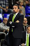Liga ACB ENDESA 2013/14 - Game: 09. <br /> FC Barcelona vs UNICAJA: 67-74.<br /> Joan Plaza.