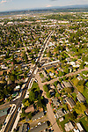 Aerial View of Cully Blvd, Portland, Oregon
