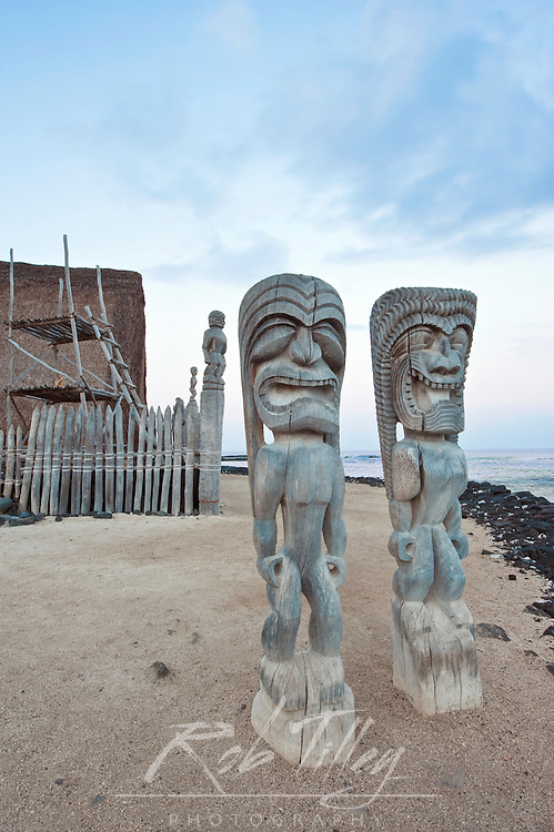 USA, HI, Puuhonua O Honaunau National Historic Park, Place of Refuge