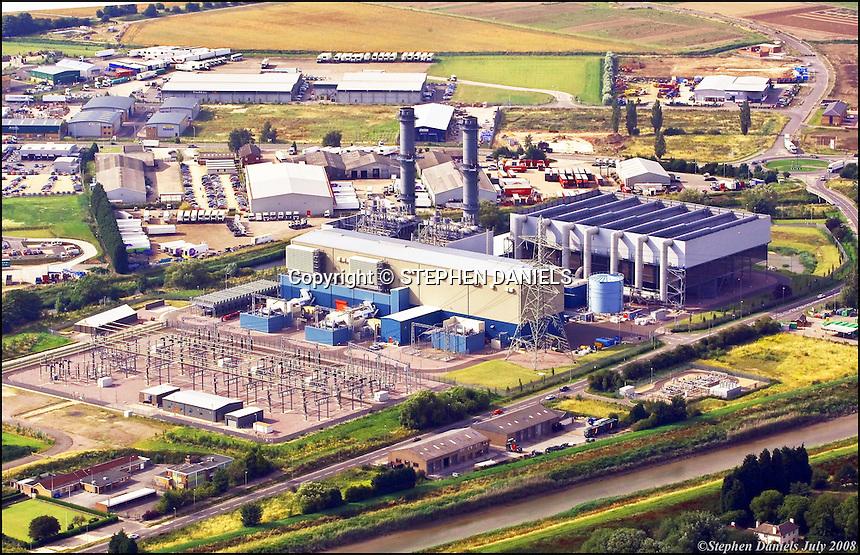 PHOTO ©  Stephen Daniels  25/07/2008<br /> Spalding Power Station, Spalding, Lincs.