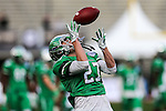 North Texas Mean Green wide receiver Kam Duhon (27) in action before the Zaxby's Heart of Dallas Bowl game between the Army Black Knights and the North Texas Mean Green at the Cotton Bowl Stadium in Dallas, Texas.