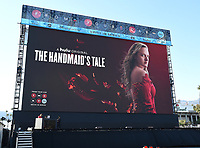 "PASADENA, CA - JUNE 14: HULU's original series ""The Handmaid's Tale"" FYC Drive-In Screening And Virtual Panel at the Rose Bowl on June 14, 2021 in Pasadena, California. (Photo by Frank Micelotta/HULU/PictureGroup)"