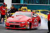 27th September 2020, Gainsville, Florida, USA;  Pro Stock driver Aaron Stanfield (442) during the 51st annual Amalie Motor Oil NHRA Gatornationals