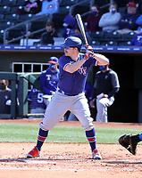 Brock Holt - Texas Rangers 2021 spring training (Bill Mitchell)