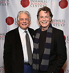 """Donald T. Sanders and John Noble attend the Opening Night Celebration for Ensemble for the Romantic Century Off-Broadway Premiere of<br />""""Maestro"""" at the West Bank Cafe on January 15, 2019 in New York City."""