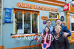 Allo's Restaurant: Armel Whyte, owner of Allo's Restaurant,  Listowel which has been included in the 2021 Michelin Guide pictured with his mother Helena and son Harvey and daughter Molly.