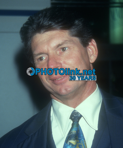 Vince McMahon, 1999, Photo By John Barrett/PHOTOlink