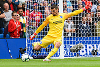 Matthew Ryan Goalkeeper of Brighton & Hove Albion (1)  during the Premier League match between Brighton and Hove Albion and Manchester United at the American Express Community Stadium, Brighton and Hove, England on 19 August 2018. Photo by Edward Thomas / PRiME Media Images.
