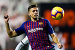 Clement Nicolas Laurent, Clement Lenglet, of FC Barcelona in action during the La Liga 2018-19 match between Rayo Vallecano and FC Barcelona at Estadio de Vallecas, on November 03 2018 in Madrid, Spain. Photo by Diego Gouto / Power Sport Images