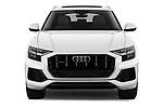 Straight front view of a 2019 Audi q8 Premium Plus 5 Door SUV