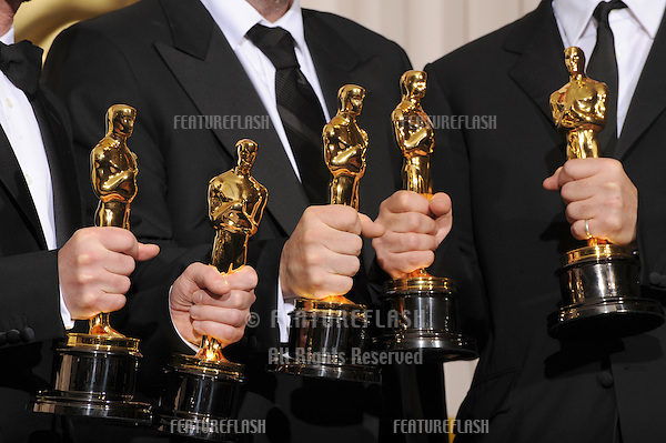 Joel Cohen & Ethan Cohen & Scott Rudin at the 80th Annual Academy Awards at the Kodak Theatre, Hollywood..February 24, 2008 Los Angeles, CA.Picture: Paul Smith / Featureflash