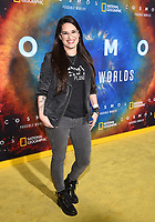 """LOS ANGELES - FEBRUARY 26: Cara Santa Maria attends National Geographic's 2020 Los Angeles premiere of """"Cosmos: Possible Worlds"""" at Royce Hall on February 26, 2020 in Los Angeles, California. Cosmos: Possible Worlds premieres Monday, March 9 at 8/7c on National Geographic. (Photo by Frank Micelotta/National Geographic/PictureGroup)"""