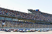 Monster Energy NASCAR Cup Series<br /> GEICO 500<br /> Talladega Superspeedway, Talladega, AL USA<br /> Sunday 7 May 2017<br /> Kyle Busch, Joe Gibbs Racing, Skittles Red, White, & Blue Toyota Camry and Jamie McMurray, Chip Ganassi Racing, McDonald's $1 Any Size Soft Drink Chevrolet SS<br /> World Copyright: Nigel Kinrade<br /> LAT Images<br /> ref: Digital Image 17TAL1nk07158