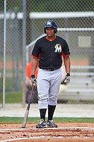 Miami Marlins Josh Naylor (83) during a minor league Spring Training intrasquad game on March 31, 2016 at Roger Dean Sports Complex in Jupiter, Florida.  (Mike Janes/Four Seam Images)
