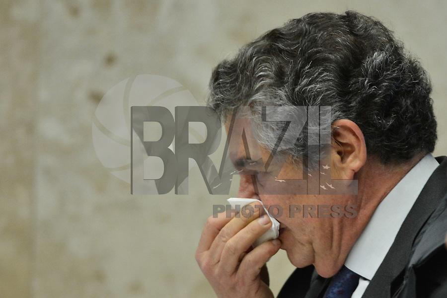 BRASÍLIA, DF, 07.12.2016 – STF-RENAN – O ministro do Suprema Tribunal Federal (STF), Marco Aurélio, durante julgamento do afastamento do presidente do senado, Renan Calheiros na tarde desta quarta-feira, 07. (Foto: Ricardo Botelho/Brazil Photo Press)