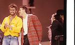 Live Aid 1985 Wembley Stadium, London , England. George Michael, Andrew Ridgeley
