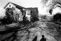 Shadows of Bethany Nickless and Trent Nelson at the abandoned sanitarium, 1987. &#xA;<br />