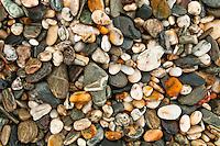 Pebbles on the beach - South Westland, West Coast, New Zealand