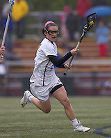 Boston College midfielder Kristin Igoe (21).  Boston College defeated University of New Hampshire, 11-6, at Newton Campus Field, May 1, 2012.