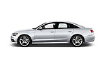 Car driver side profile view of a 2016 Audi A6  TDI quattro tiptronic Prestige  4 Door Sedan