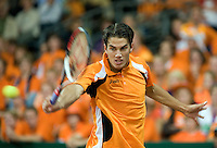 19-9-08, Netherlands, Apeldoorn, Tennis, Daviscup NL-Zuid Korea, Seccond rubber  Jesse Huta Galung