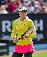 Netherlands, Rosmalen , June 08, 2015, Tennis, Topshelf Open, Autotron,   Yaroslova Shvedova (KAZ)<br /> Photo: Tennisimages/Henk Koster
