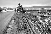 - NATO exercises in Germany, US Army M 60 tank crashed (January 1986)<br /> <br /> - esercitazioni NATO in Germania, carro armato M 60  dell'U.S.Army incidentato (Gennaio 1985)
