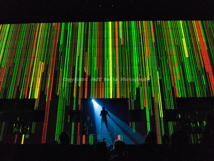 Roger Waters live in concert performing The Wall at American Airlines Center on November 21, 2010 in Dallas, TX.