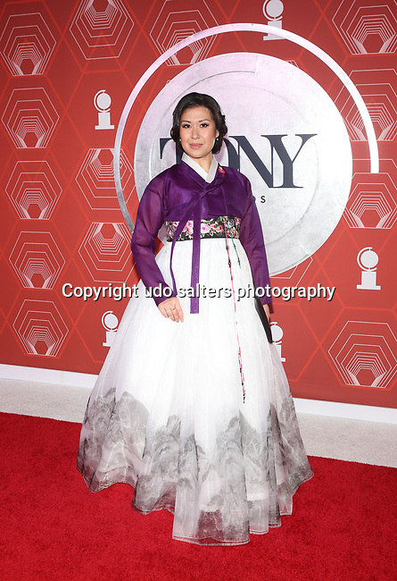 Ruthie Ann Miles attends the 74th Tony Awards-Broadway's Back! arrivals at the Winter Garden Theatre in New York, NY, on September 26, 2021.