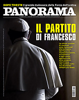 Panorama Italian Magazine Pope Francis on October 16, 2018<br /> Photograph by Stefano Spaziani.
