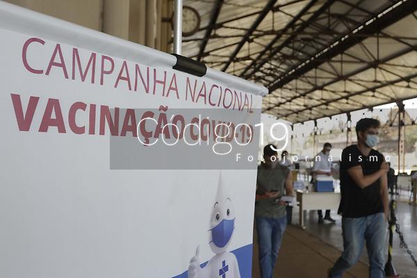 Campinas (SP), 20/08/2021 - Vacina Covid-19 - Movimentacao no CIS Guanabara, nesta sexta-feira (20), um dos centros de imunizacao contra a Covid-19 na cidade de Campinas (SP). (Foto: Denny Cesare/Codigo 19/Codigo 19)