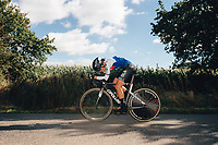 6th October 2021 Womens Cycling Tour, Stage 3. Individual Time Trial; Atherstone to Atherstone. Eugenia Bujak.