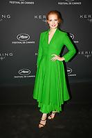 Jessica Chastain en photocall avant la soiréee Kering Women In Motion Awards lors du soixante-dixième (70ème) Festival du Film à Cannes, Place de la Castre, Cannes, Sud de la France, dimanche 21 mai 2017. Philippe FARJON / VISUAL Press Agency