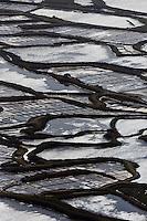 Europe/France/Pays de la Loire/44/Loire Atlantique/Guérande: Les marais salants de Guérande  - Vue aérienne // France, Loire Atlantique, Guerande, Salt marshes of Guerande (aerial view)