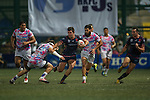 Taikoo Place Scottish Exiles vs A-Trade Overseas Old Boys during the Plate final at GFI HKFC Rugby Tens 2016 on 07 April 2016 at Hong Kong Football Club in Hong Kong, China. Photo by Juan Manuel Serrano / Power Sport Images