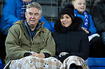 St Johnstone v Hearts…30.10.19   McDiarmid Park   SPFL<br />TV presenter and St Johnstone fan Eilidh Barbour watches the game<br />Picture by Graeme Hart.<br />Copyright Perthshire Picture Agency<br />Tel: 01738 623350  Mobile: 07990 594431